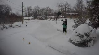 Greenbelt (MD) United States  city photo : Snowzilla - Greenbelt, Maryland - 1.22-23.16 - Time Lapse