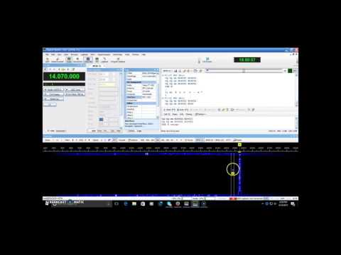 Operating PSK31 ham radio tutorial on 20 meters