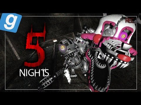 5 Nights - Monster In The Mines (Garry's Mod) (видео)