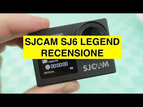 Recensione SJCAM SJ6 Legend