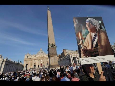 Video Thánh Lễ Phong Thánh Mẹ Têrêsa Calcutta tại Roma