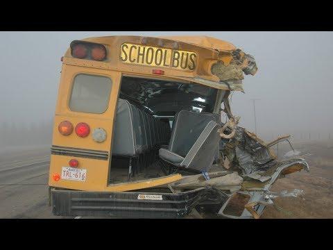 The National for Sunday October 14, 2018 — School Bus Seatbelts, Jamal Khashoggi, Legal Pot