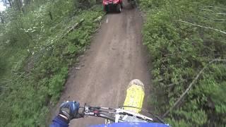 5. RMZ 450 Trail Riding