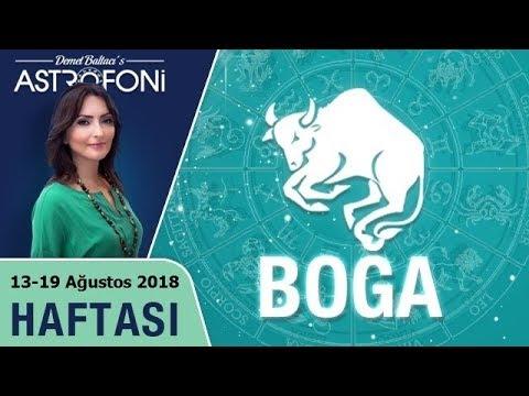 BOĞA Burcu 13-19 Ağustos 2018 HAFTALIK Burç Yorumu, Demet Baltacı (видео)