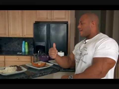 Phil Heath meal plan