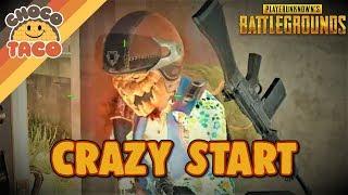A Crazy School Start ft. Halifax - chocoTaco PUBG Gameplay