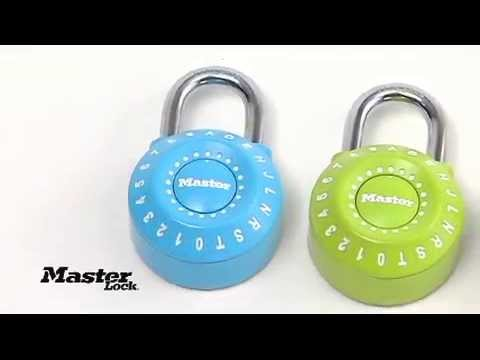 1590D Set-Your-Own Combination Lock: Use Letters - Learn More!