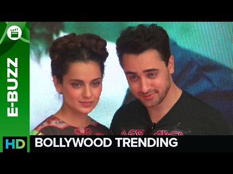 Kangana Explains Girl-Speak To Imran!