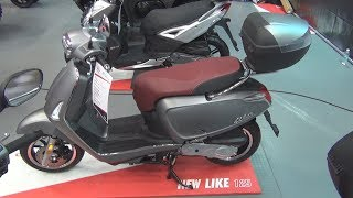 10. Kymco Like 50 4T (2019) Exterior and Interior