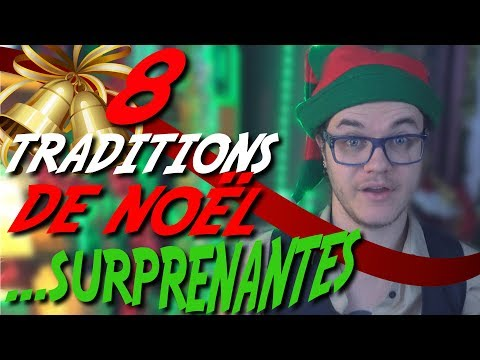 CHRIS : 8 Traditions de Noël Surprenantes (dans le monde)