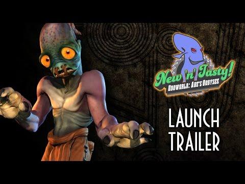 Oddworld – New 'n' Tasty – HD Launch Trailer