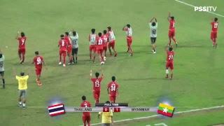 Video Semifinal AFF U-19 Championship 2018 : Thailand vs Myanmar MP3, 3GP, MP4, WEBM, AVI, FLV Juni 2019