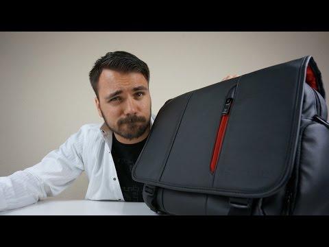 Die Tasche für Studenten? Freelancer? Schüler? - Snugg™ Schultertasche - Dr. UnboxKing