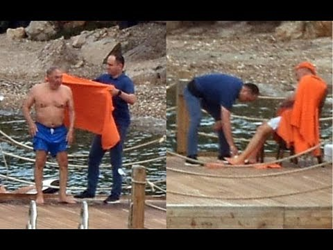 Назарбаев проводит отпуск на роскошной яхте / БАСЕ (видео)