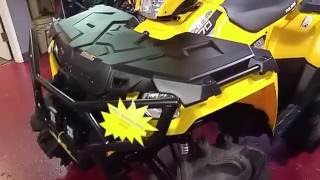 9. ATV Review: of 2016 Polaris Sportsman 570 how to acessorize