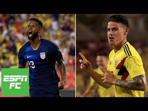 USMNT loses friendly to Colombia as James Rodriguez scores incredible goal | ESPN FC