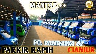 Video MOMEN KETIKA UNIT ARMADA PARIWISATA PO  PANDAWA 87 TERPARKIR RAPIH !!! MP3, 3GP, MP4, WEBM, AVI, FLV Mei 2019