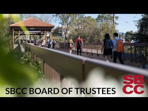 SBCC Board of Trustees 4/12/2018