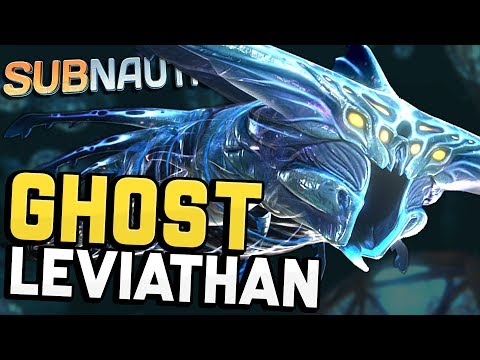 Subnautica - GHOST LEVIATHAN! The Scariest Monster in Subnautica - Let's Play Subnautica Gameplay (видео)