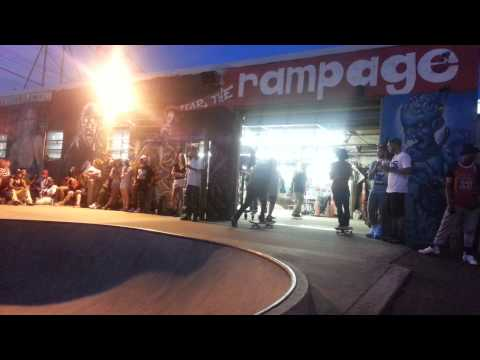 Whadafunk Pop Up Shop @ Rampage Skate Park [Bridgeport, CT] 2014