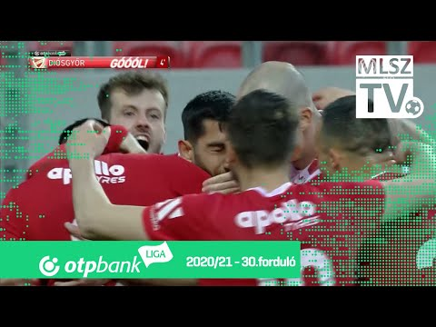 Molnár Gábor gólja (DVTK - PAFC, 30. forduló)