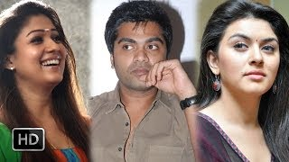 Nayanthara&Hansika come face to face  நாங்க சொல்லல்ல