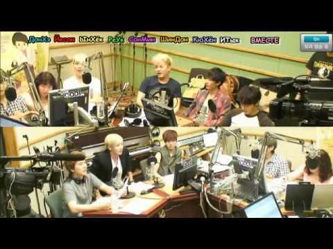120720 Sukira - Kiss Thie Radio - KTR with Super Junior Part 2/8 [rus.sub]