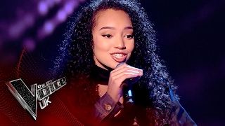 Lia White  'FourFiveSeconds':  | The Voice UK 2017
