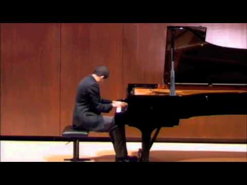 Jared Miller - Jason Stoll's graduation recital at Juilliard's Paul Hall 3/30/12.