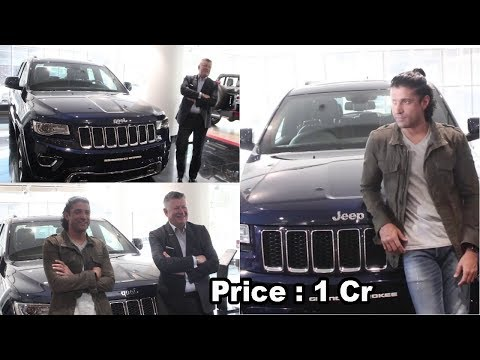 Farhan Akhtar Buy a New Jeep Grand Cherokee