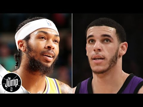 Video: Lonzo Ball or Brandon Ingram: Who's more likely to take the next step? | The Jump