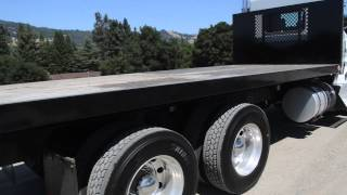 9. Used Kenworth T800 Flatbed │Charter & Company Truck Sales
