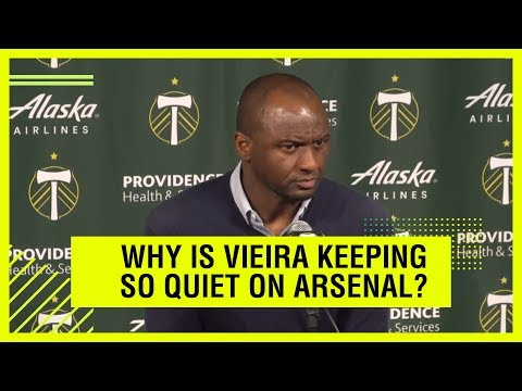 Video: What is Patrick Vieira hiding?