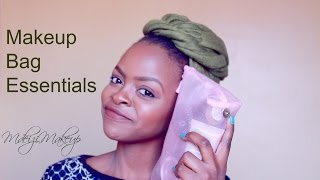Makeup Bag Essentials | Makeup Travel Bag
