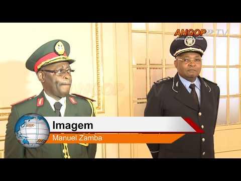 PR confere posse ao comandante da Polícia e ao Chefe do Serviço de Inteligência Militar