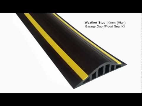 Weather Stop 40mm (High) Garage Door / Flood Barrier Seal Kit