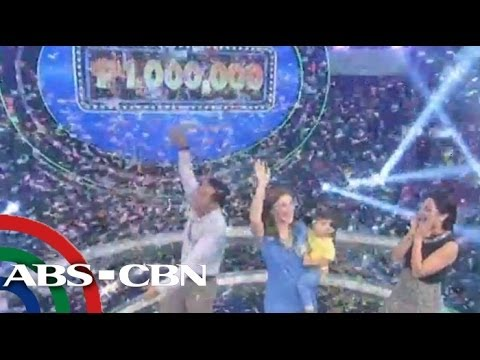 Family of Russian singer wins P1M on 'Bet On Your Baby'