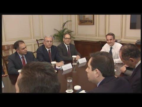 Συνάντηση του πρωθυπουργού με στελέχη της αυτοδιοίκησης των νησιών του Βορειοανατολικού Αιγαίου