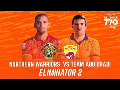 Match 27 I Eliminator 2 I Day 9 I HIGHLIGHTS I Northern Warriors vs Team Abu Dhabi I Abu Dhabi T10