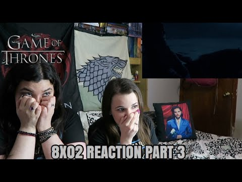 """GAME OF THRONES 8X02 """"A KNIGHT OF THE SEVEN KINGDOMS"""" REACTION (PT 3/3)"""