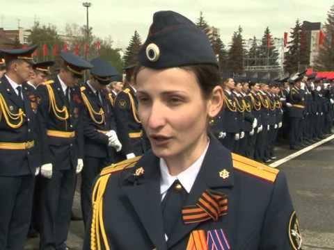 На площади Куйбышева прошла генеральная репетиция Парада Победы