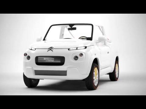 Citroën E-MEHARI Courrèges Concept