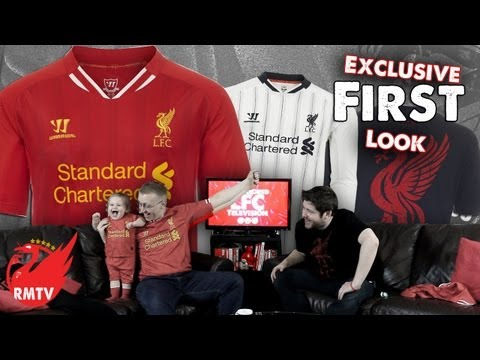 Liverpool Home Kit 2013/14 Revealed (EXCLUSIVE First Look)