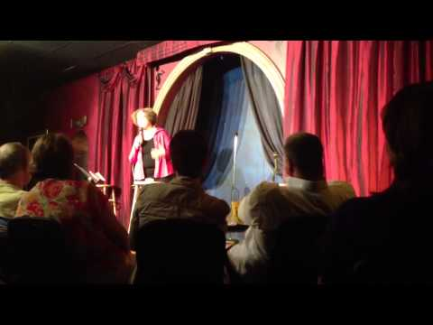 Sue at McCurdy's Comedy Club July 2013