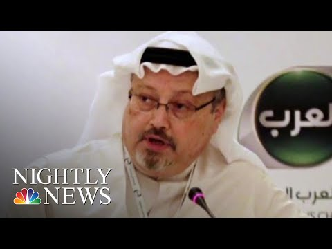Saudis Admit That Jamal Khashoggi Is Dead | NBC Nightly News