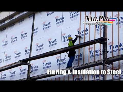 Furring & Insulation to Steel in WA State Indian Casino Project