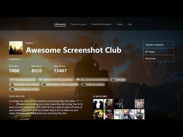 Actualización de Xbox de navidad: ¡Clubes, grupos y más!