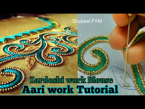 Hand embroidery basic aplic work tutorial for beginners applique