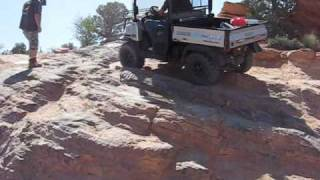 5. Kubota RTV900 Turbo at 2009 UTV Rally, Moab UT. Fins & Things Trail