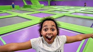 Hi friends,Another awesome day out with my big bro Jordon, I just love trampoline parks they are super duper cool! I definitely want to go again :)My second Rainbow Magic book is OUT NOW!It's called Tiana the Toy Fairy: The Land of Sweets is OUT NOW!Click the link below if you wish to buy it!http://amzn.to/2pBepVV2nd Channel Famtastic👇🏾▶︎ https://www.youtube.com/channel/UC8Nw...PopJam▶︎ https://goo.gl/HK43GxToys AndMe T Shirts: https://www.noisysauce.com/tiana-toys...Snowflakes Links:)iTunes - http://apple.co/2fonSd4Spotify - http://bit.ly/spotifyTTSFKAmazon Music - http://amzn.to/2f8eWuITiana the Toy Fairy:)Amazon store - http://amzn.to/2fkEYrtHi friends, you can send me mail here :)Toys And MePO Box 10496NOTTINGHAMNG13 8QWMY INSTAGRAM▶︎ https://instagram.com/toys_andme/GOOGLE▶︎https://plus.google.com/b/10584862616...Toy in other Languages: खिलौने, brinquedos, ของเล่น, اللعب, igračke, đồ chơi, oyuncaklar, leksaker, juguetes, играчке, игрушки, jucării, тоглоом, leker, اسباب بازی, zabawki, 장난감, トイズ, giocattoli, mainan, játékok, צעצועים, Hračky, legetøj, speelgoed, laruan, jouets, Spielzeug, ΠαιχνίδιαToys Andme is a fun channel where i do Toy reviews and unboxing, Games and challenges.Trips and fun activities and more,i love kids YouTube Channels so i asked my dad too help me make my own! so guys can you please LIKE-COMMENT-SUBSCRIBE to my channel.